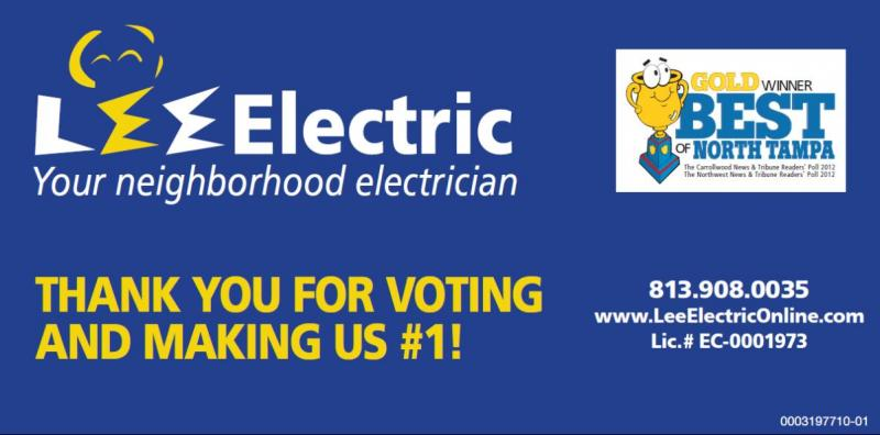 Lee Electric Best of North Tampa
